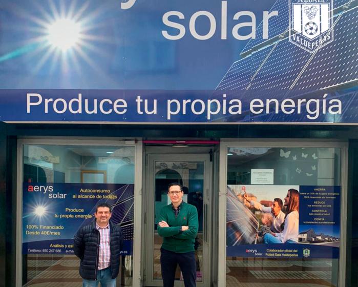 Viña Albali Valdepeñas y Aerys Solar han firmado un acuerdo de colaboración para esta temporada