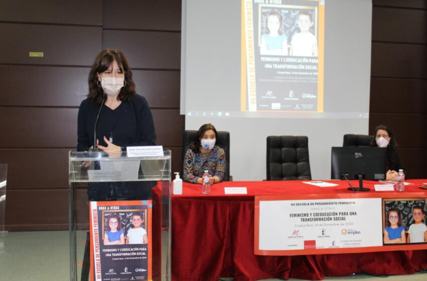 Inauguración de la VII Escuela de Pensamiento Feminista 'Feminismo y coeducación para una transformación social' en Ciudad Real