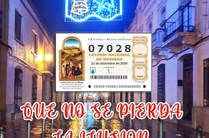 Los 4.100 vecinos de Santa Cruz de Mudela jugarán un año más el mismo número de la Lotería de Navidad
