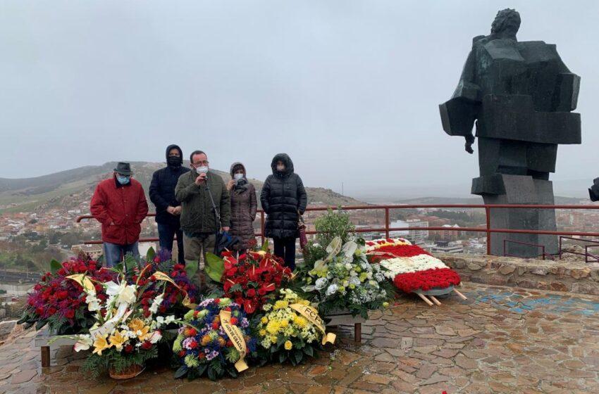 Acto conmemorativo del Día del Minero celebrado hoy en Puertollano