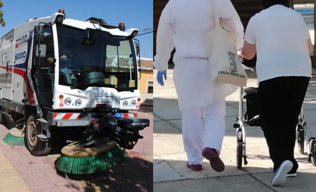 Valdepeñas destinará 2'2 millones de euros en 2021 a limpieza municipal y a ayuda a domicilio