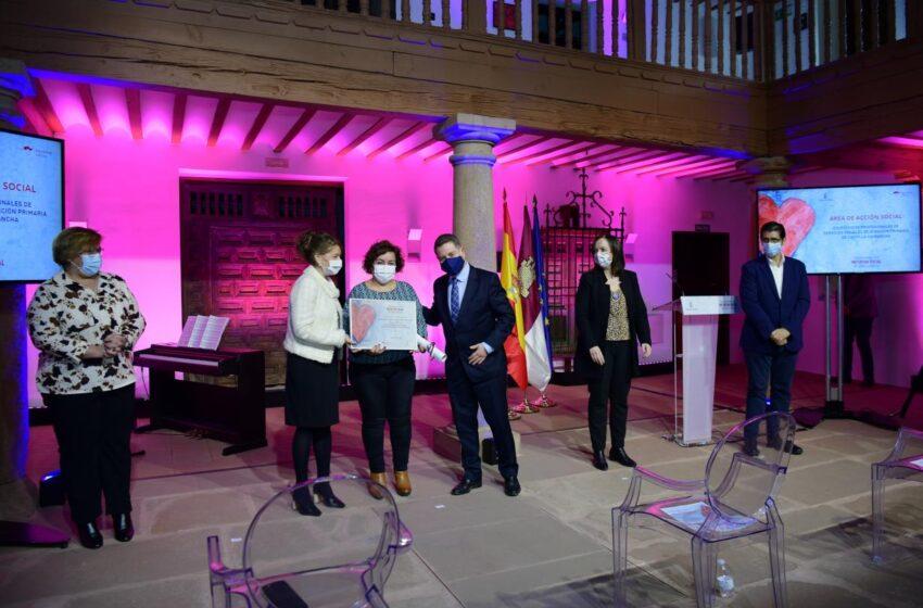 Entrega de los Reconocimientos a la Iniciativa Social 2020 en Alcázar de San Juan