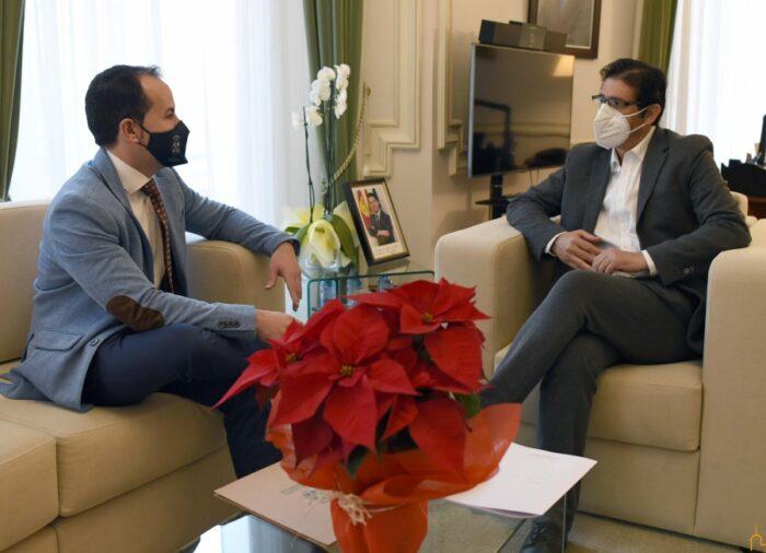 Sergio García-Navas y José Manuel Caballero