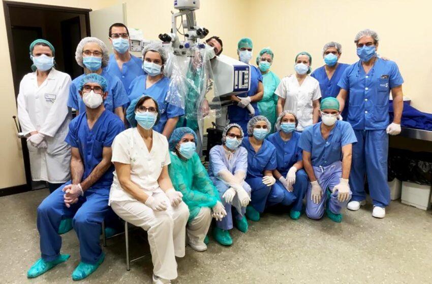 El Servicio de Oftalmología del Hospital Mancha Centro, reconocido con dos premios por SECOIR