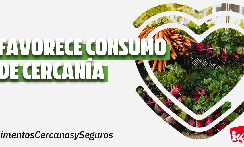 IU Valdepeñas valora positivamente el RD sobre las medidas higiénico-sanitarias impulsadas por Consumo