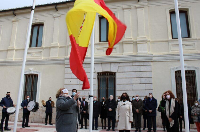 Acto institucional para conmemorar el 42º aniversario de la Carta Magna en Ciudad Real