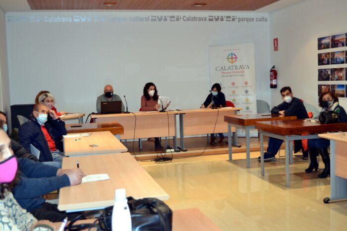 Junta directiva de la Asociación para el desarrollo del Campo de Calatrava