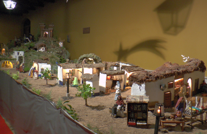 Visita el Belén manchego de Bodegas Corcovo