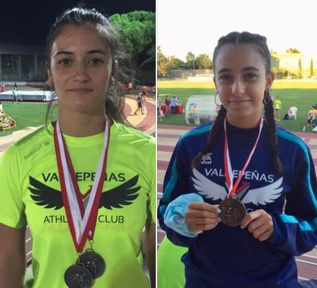 Carla Moliterni y Estrella Ponce, del Valdepeñas Athletics Club, convocadas por la Federación Regional