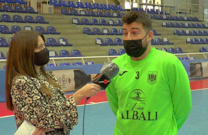 """Juanjo Catela: """"Llegué a Valdepeñas y volví a creer en mí, a ser el jugador que soy y sólo tengo palabras de agradecimiento para el club"""""""