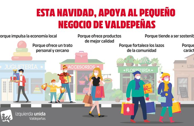 Opinión: Cuidar lo cercano, apoyar al pequeño comercio de Valdepeñas