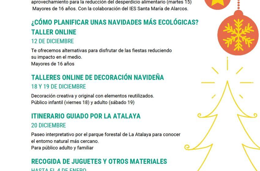 """La Delegación de la Consejería de Desarrollo Sostenible en Ciudad Real ha puesto en marcha  su programa de sensibilización ambiental """"Navidades Sostenibles"""""""