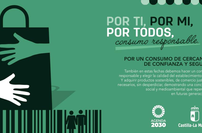 El Gobierno de CLM lanza la Campaña `Por ti, por mí, por todos, consumo responsable´