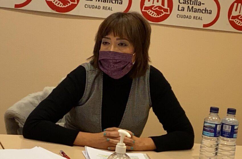 Alfonsi Álvarez, elegida nueva secretaria general de UGT Ciudad Real