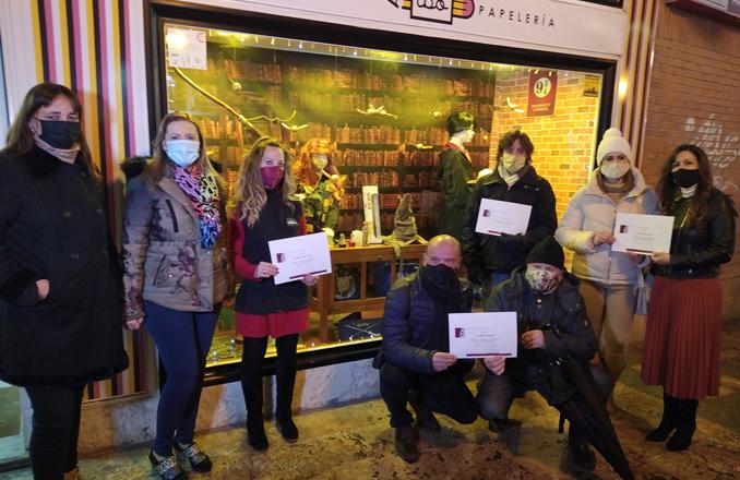 Entregados los premios del concurso de escaparates y balcones navideños en Valdepeñas