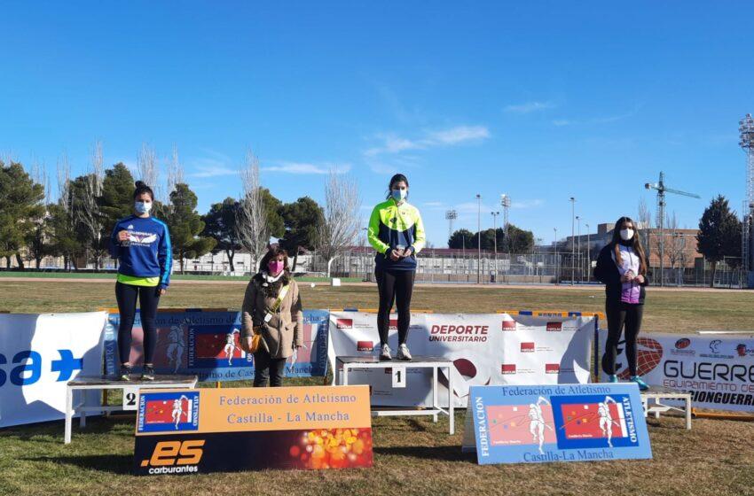 Estrella Ponce del Valdepeñas Athletics Club, Subcampeona de Castilla-La Mancha en Lanzamiento de Jabalina