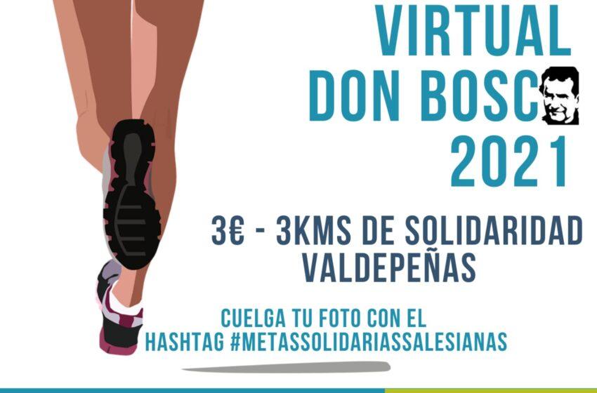 El Colegio Nuestra Señora de los Dolores y el Valdepeñas Athletic Club organizan la Carrera Virtual Don Bosco 2021