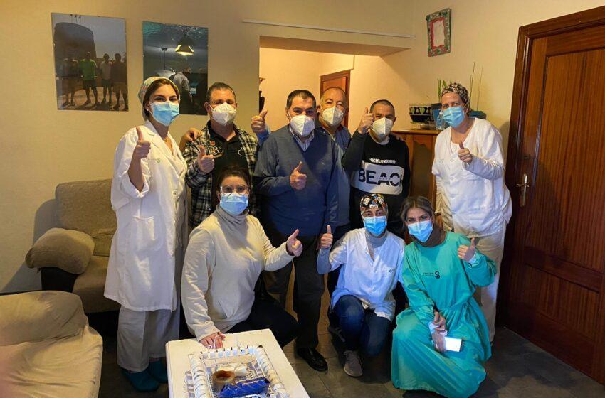 Culmina el proceso de vacunación de todos los centros sociosanitarios de Manzanares