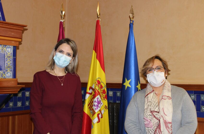 La delegada de la Junta de Comunidades ofrece a la cónsul de Rumanía en Ciudad Real la plena colaboración del Gobierno de CLM