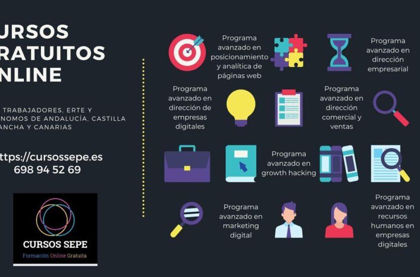 Cursos gratuitos para trabajadores y autónomos de Castilla la Mancha
