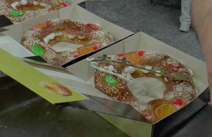 La tradición del Roscón de Reyes en el Horno San Antonio