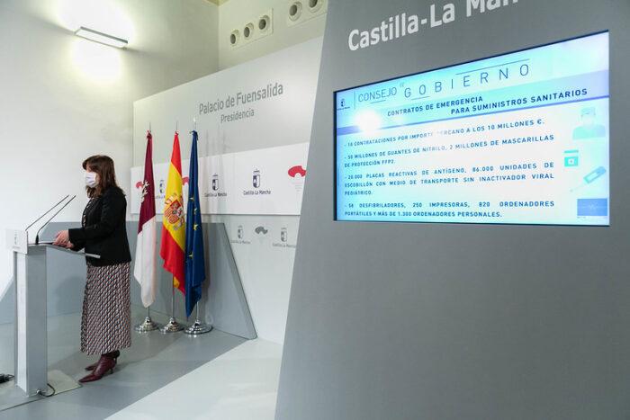 Castilla-La Mancha priorizará la vacunación en personas mayores y vulnerables