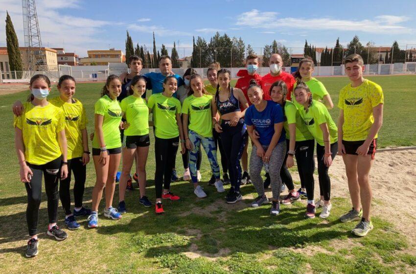 Treinta atletas del Valdepeñas Athletics Club estarán compitiendo el sábado en Manzanares