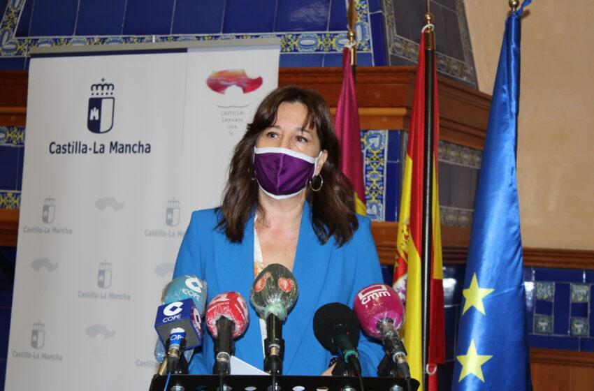 Blanca Fernández, ha presidido esta mañana la reunión telemática del Consejo de Dirección del Instituto de la Mujer de Castilla-La Mancha