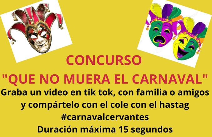 El CEIP Cervantes de Santa Cruz de Mudela reinventa carnaval