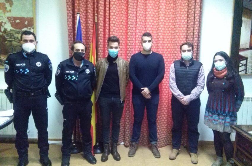 Moral de Calatrava incorpora 2 nuevos agentes al cuerpo de policía local