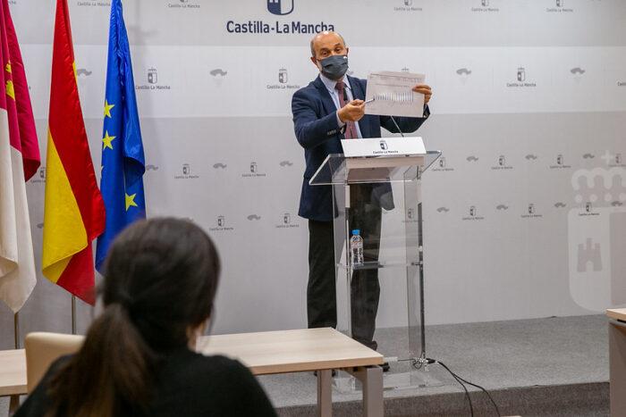 El director general de Empleo, José Luis Cabezas, ha analizado los datos del paro de enero