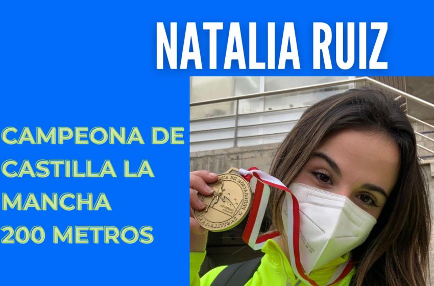 Asabu Pines y Natalia Ruiz campeones de Castilla-La Mancha