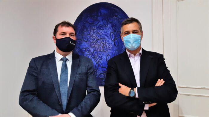 Emilio Restoy y David Palacios