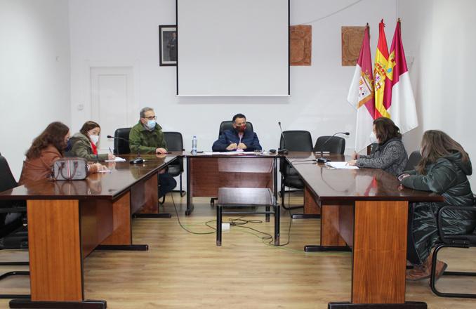 El Concejal de Cultura hace partícipes a los centros educativos de la localidad de las actividades culturales con motivo del VI Centenario de Villanueva de los Infantes