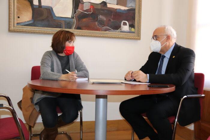 Alfonsi Álvarez  y Julián Nieva