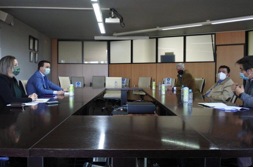 El consejero Martínez Arroyo se ha reunido hoy con la IGP Cordero Manchego