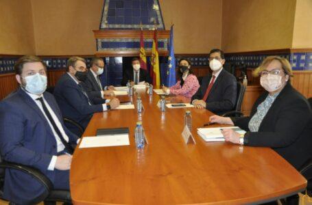 Reunión en la Delegación de la JCCM en Ciudad Real