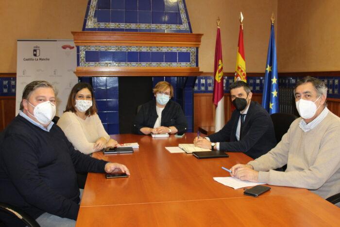 Reunión en la Delegación de la Junta en Ciudad Real