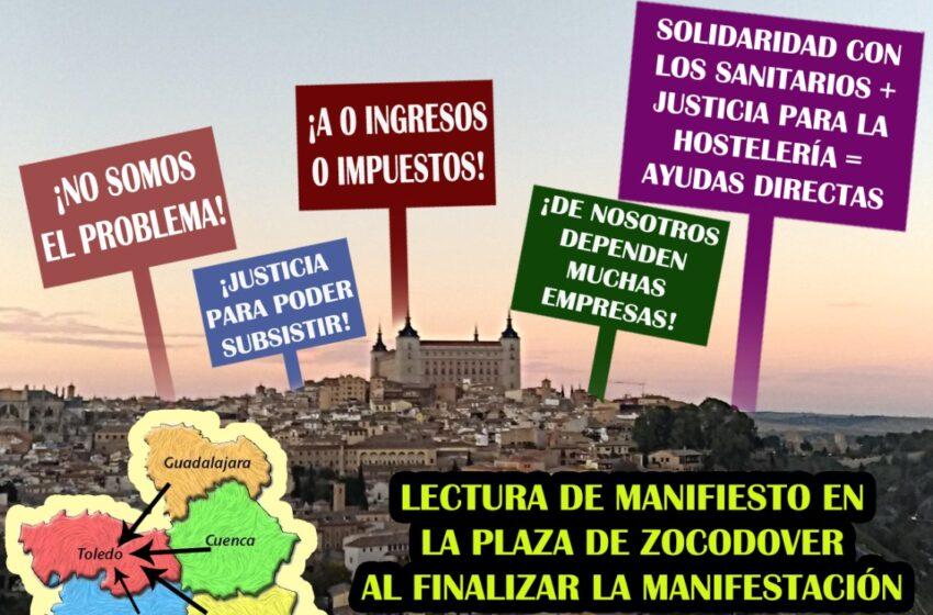 Turinfa convoca una manifestación del sector de la hostelería para el 12 de febrero en Toledo