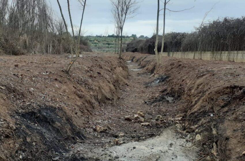 El Área de Medio Ambiente de Izquierda Unida Valdepeñas secunda las críticas de Ecologistas en Acción por la limpieza de cauce llevada a cabo en el arroyo del Peral
