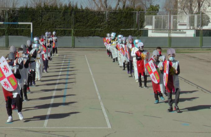 El CEIP Lucero celebra un baile de carnaval