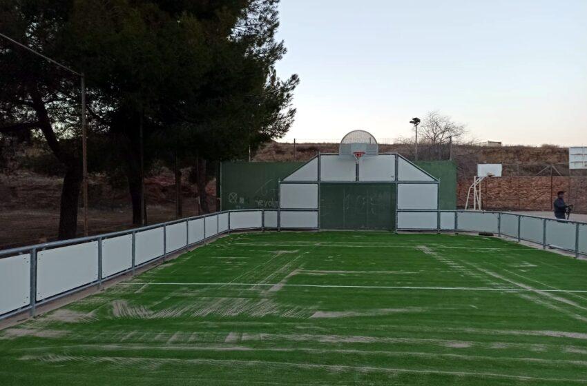 Carrizosa contará pronto con una nueva Pista Multideporte en el Complejo deportivo Municipal