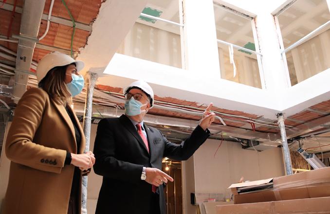 Las obras de la 'casa Josito', a dos meses de su conclusión