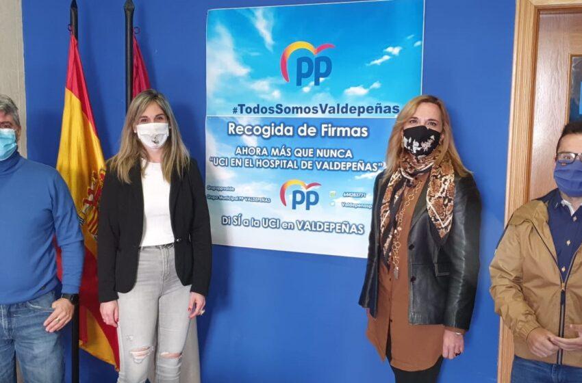 El PP de Valdepeñas envía una solicitud al presidente de CLM para que lleve a cabo la realización de un cribado masivo
