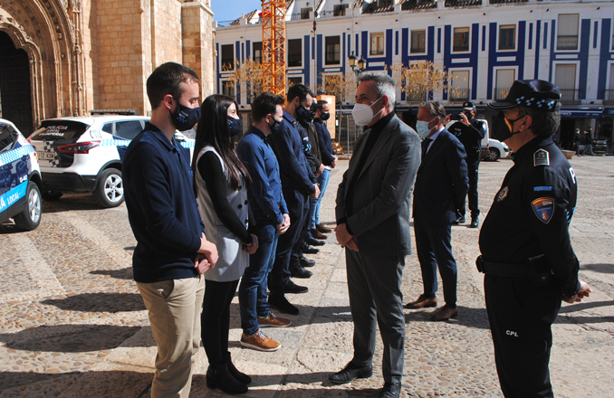 Siete nuevos agentes incrementarán la plantilla de Policía Local de Valdepeñas