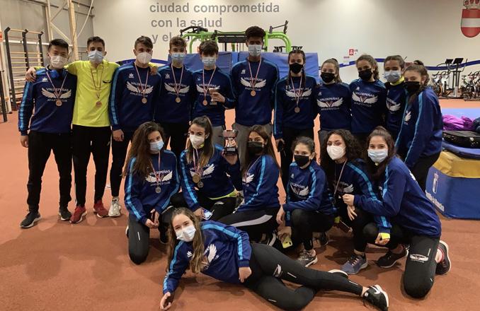 Éxito del Valdepeñas Athletics Club en el Campeonato de CLM por clubes