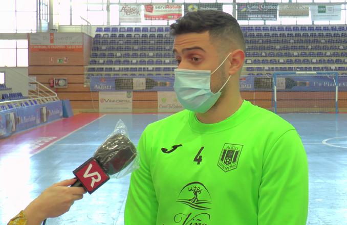 Xavi Cols: «Jugar en el Viña Albali Valdepeñas es un lujo por todo lo que significa este club»