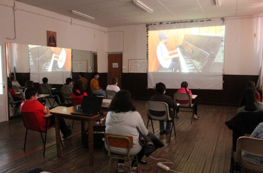 Audición de la Escuela de Música en Villanueva de los Infantes