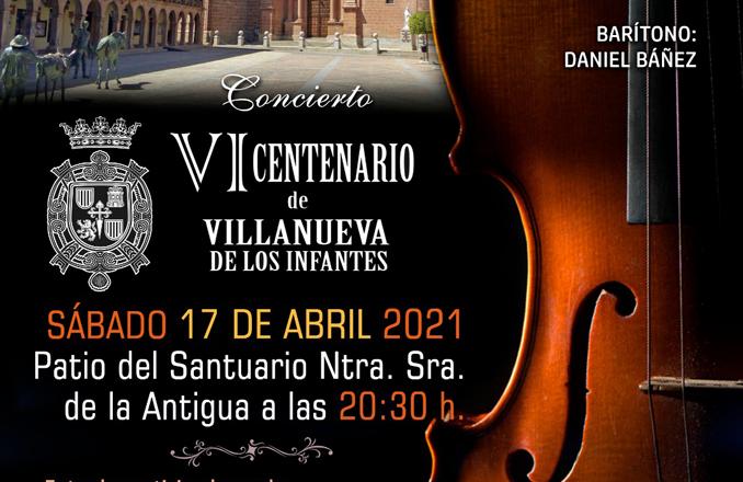 La Orquesta Filarmónica de La Mancha actuará en el Santuario el 17 de abril con motivo del VI Centenario de Villanueva de los Infantes