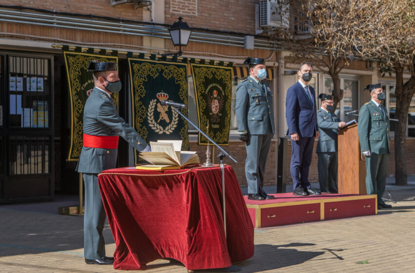 Toma posesión el nuevo mando de la Guardia Civil en Castilla-La Mancha
